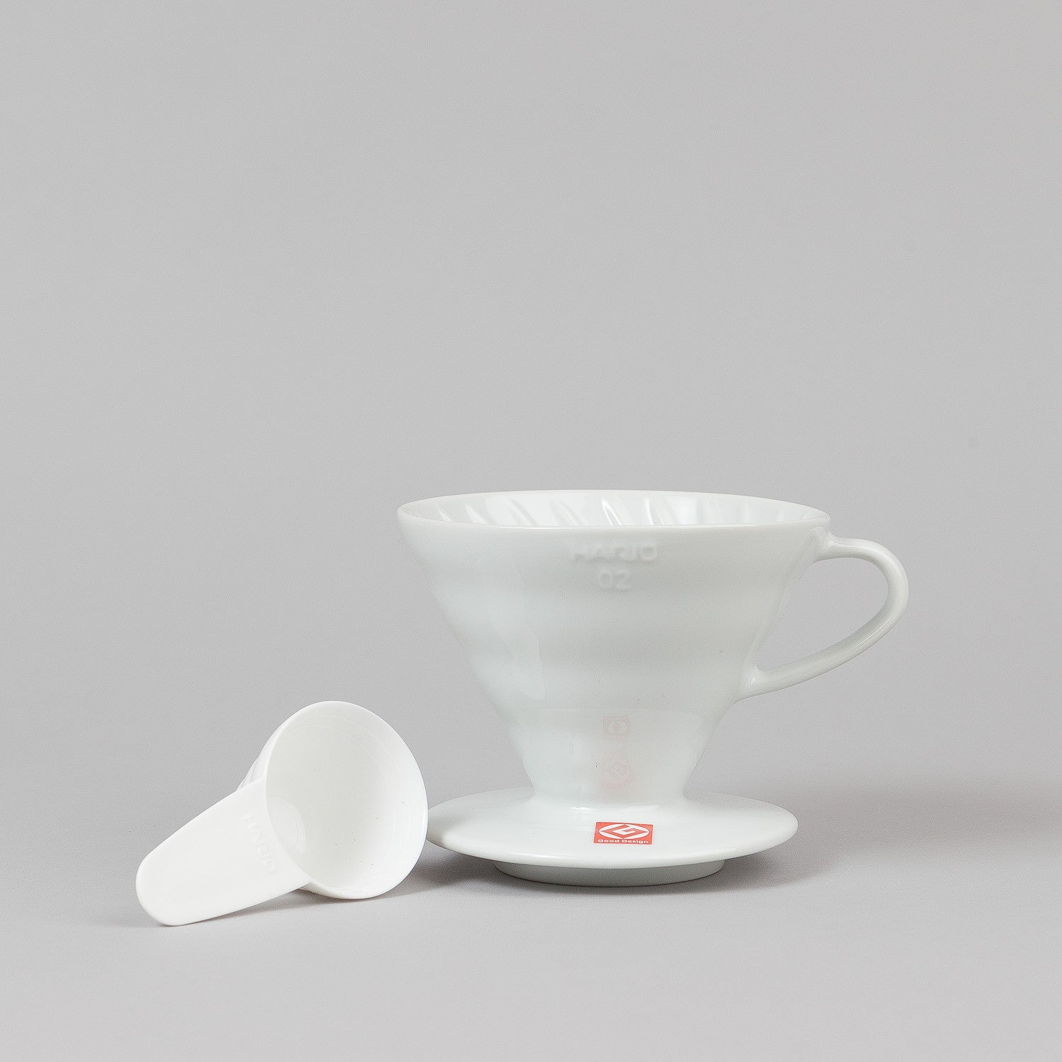 Hario V60 Ceramic Coffee Dripper - White