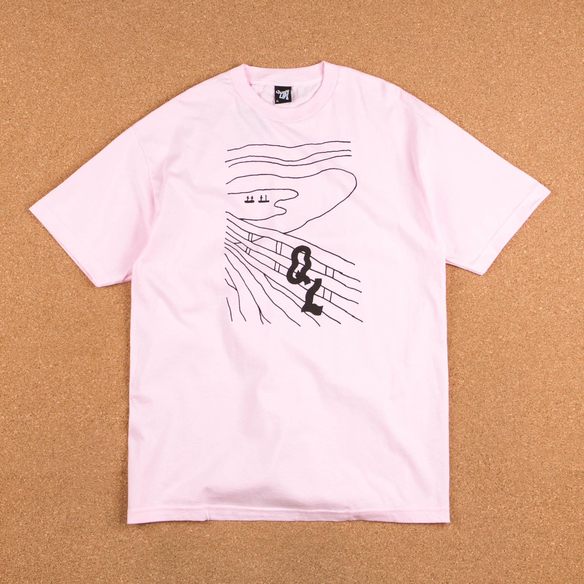 The Quiet Life Scream T-Shirt - Pink