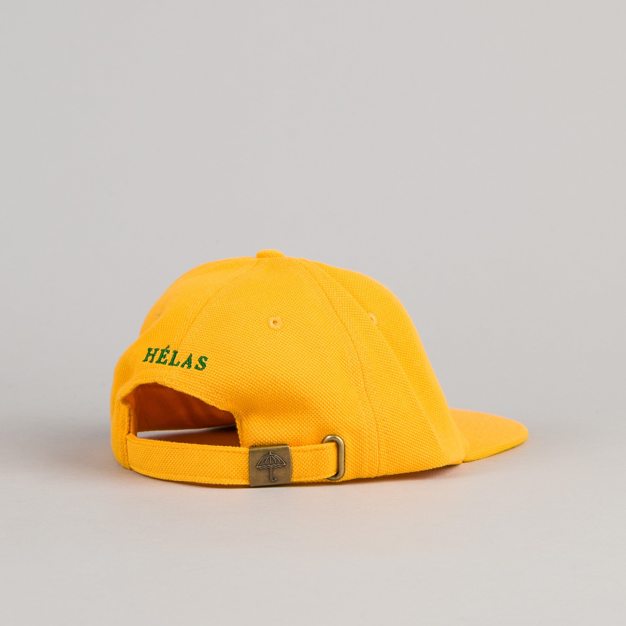Helas Baller 6 Panel Cap - Yellow