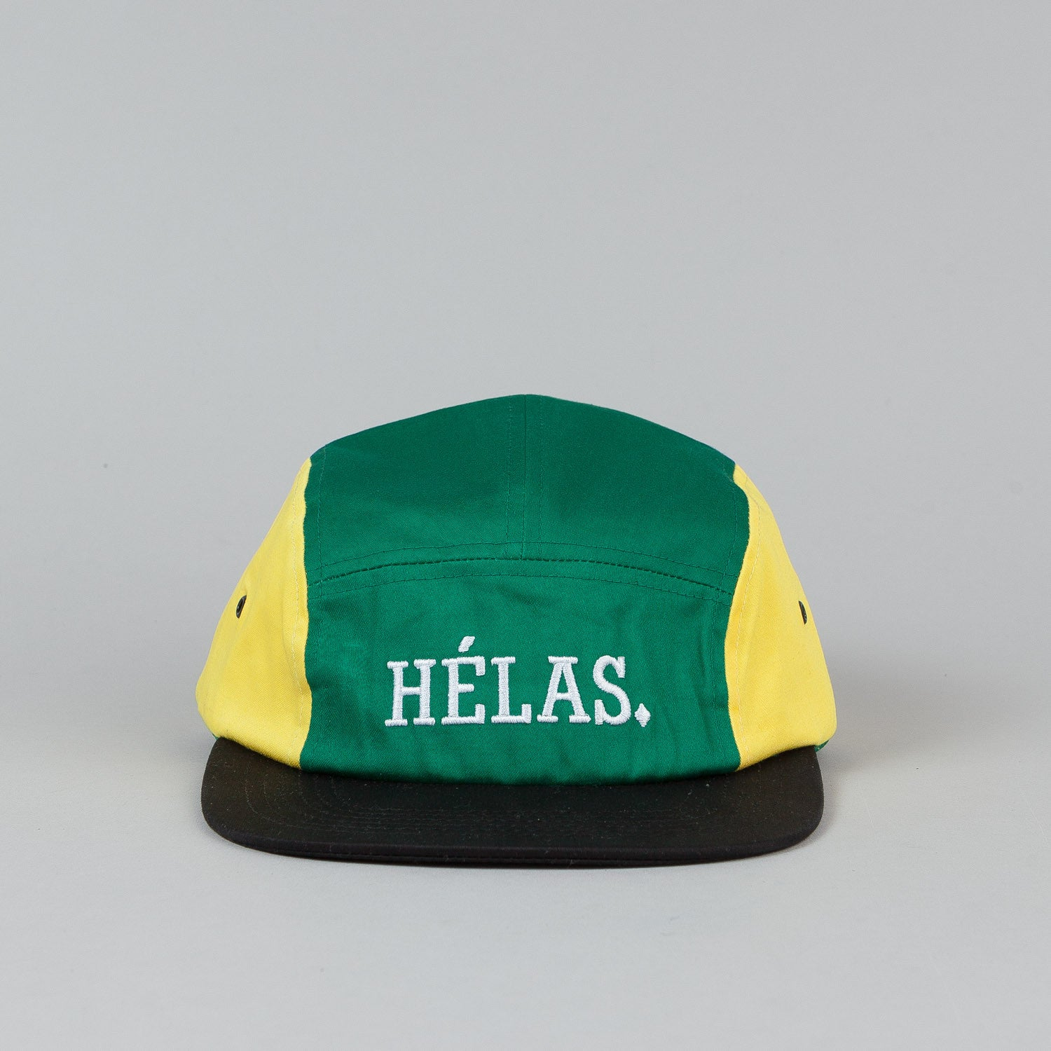 Helas Capitole Cap Green / Yellow