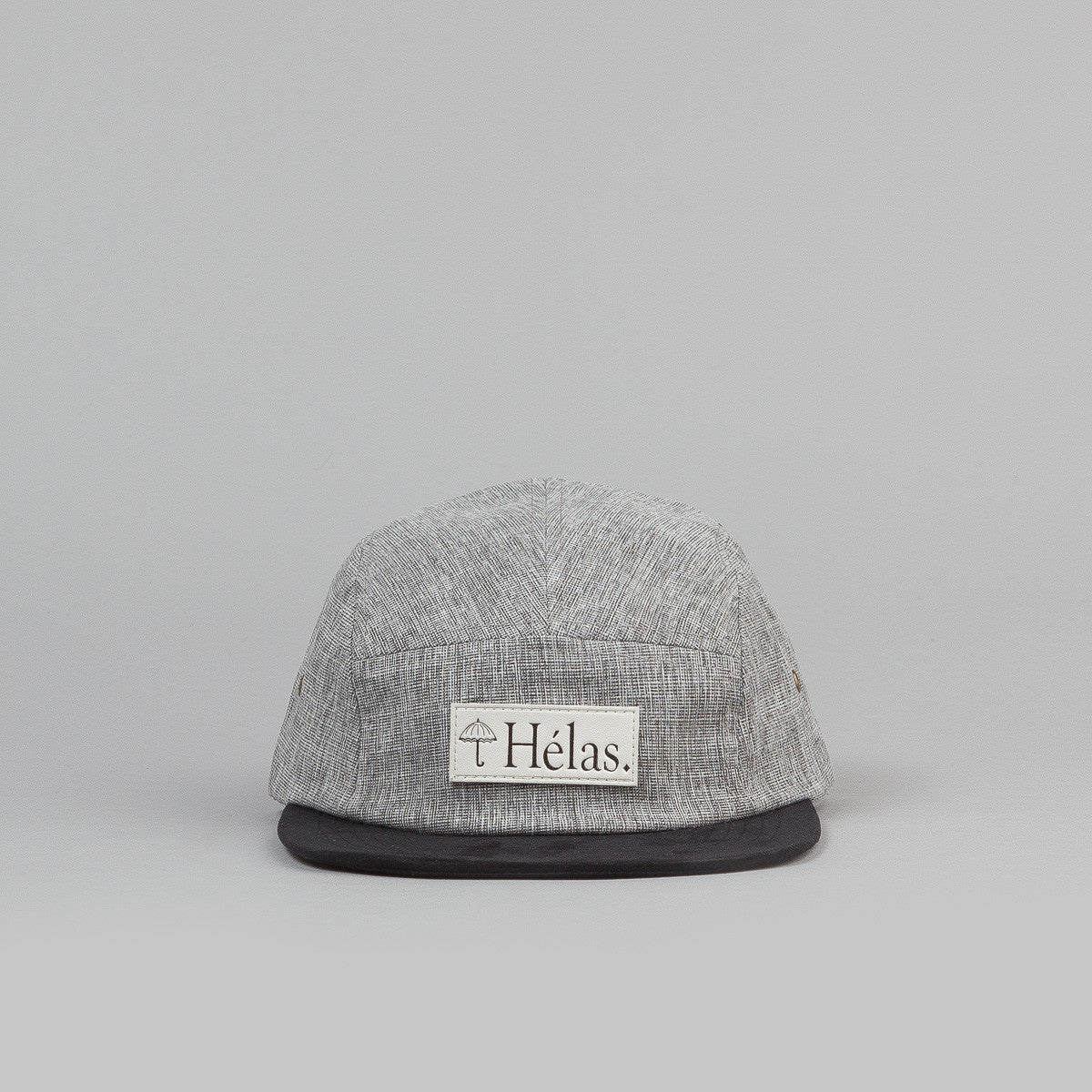 Helas Capone 5 Panel Cap - Heather Grey
