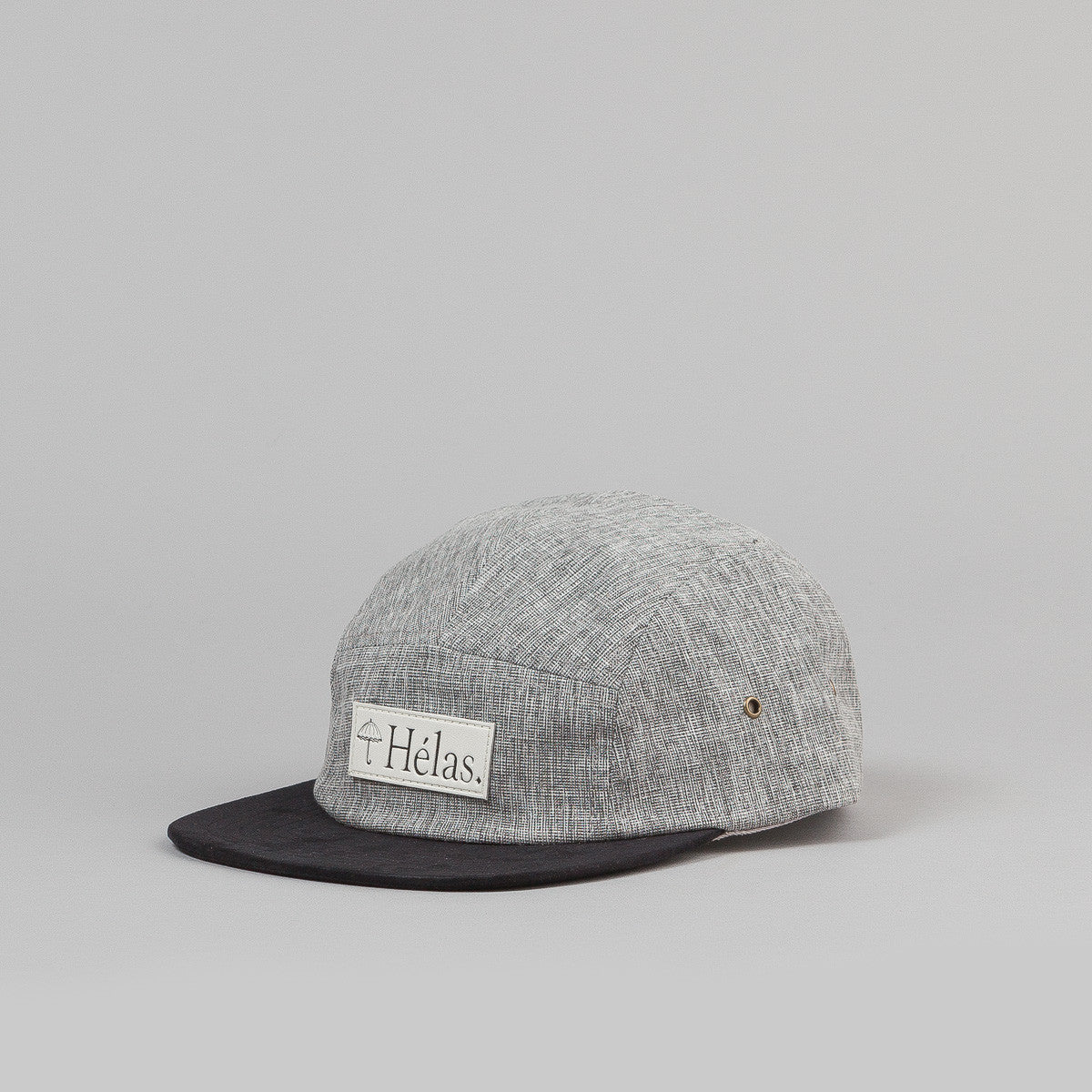 Hĩlas Capone 5 Panel Cap - Heather Grey