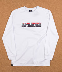 Helas Champs Long Sleeve T-Shirt - White