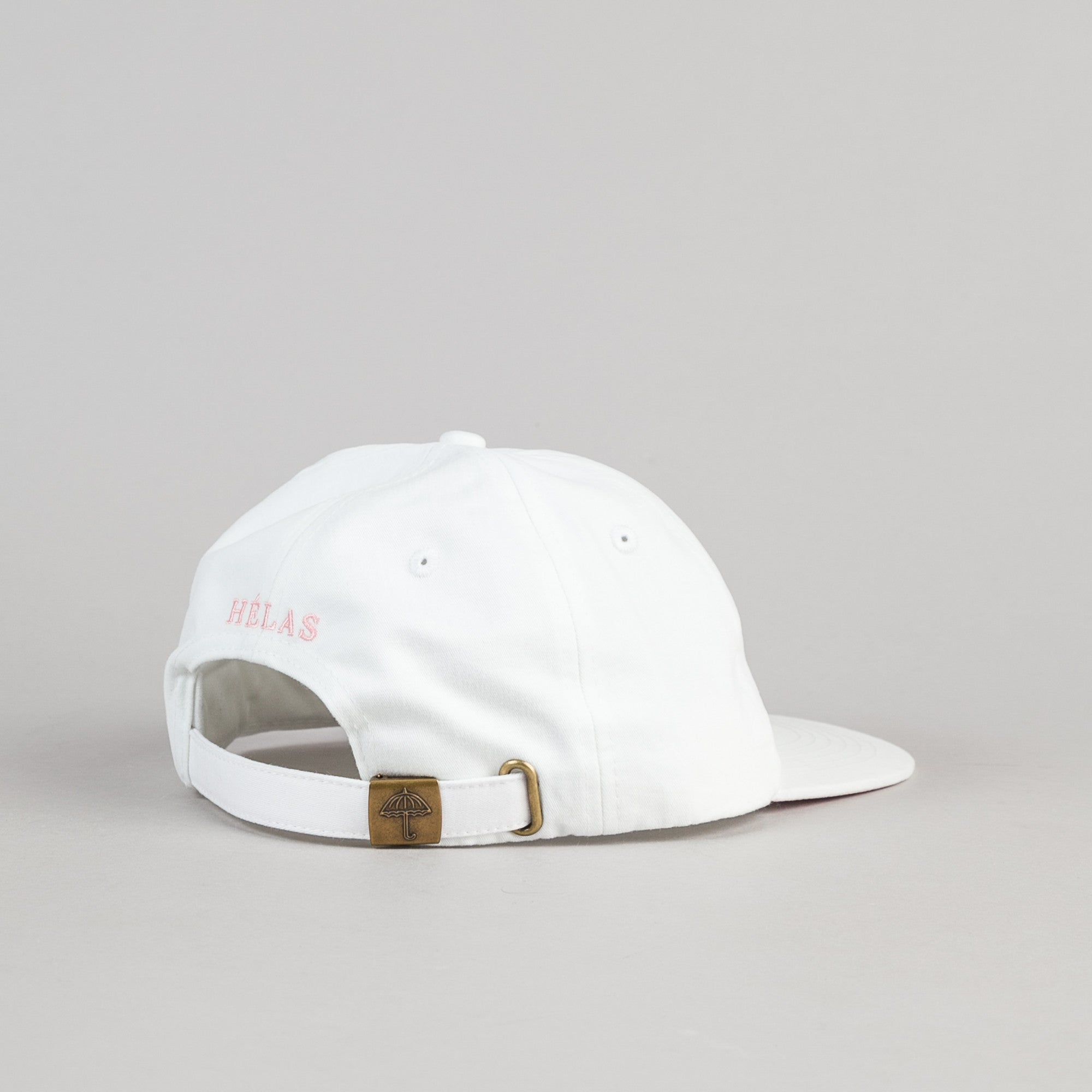 Helas Classic 6 Panel Cap - White / Pink