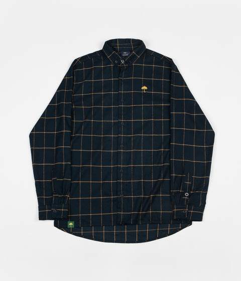 Helas Classic Carreaux Shirt - Dark Green