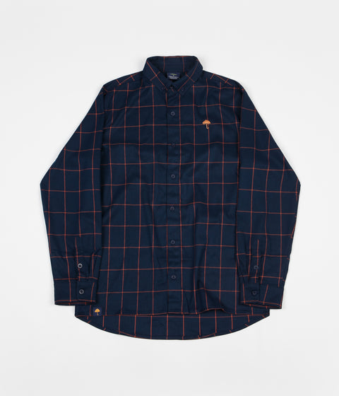 Helas Classic Carreaux Shirt - Navy
