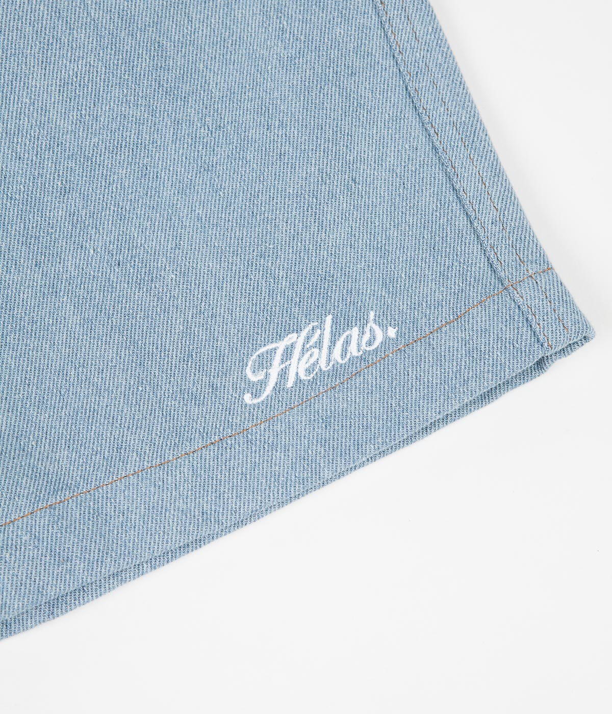 Helas Classic Denim Shorts - Clear Blue
