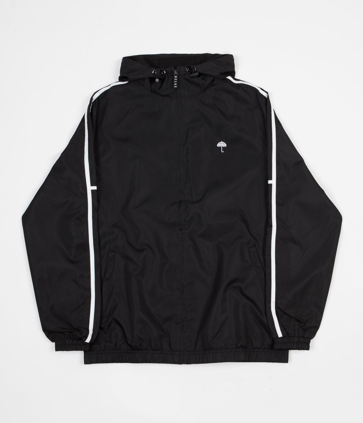 Helas Classic H Stripes Tracksuit Jacket - Black