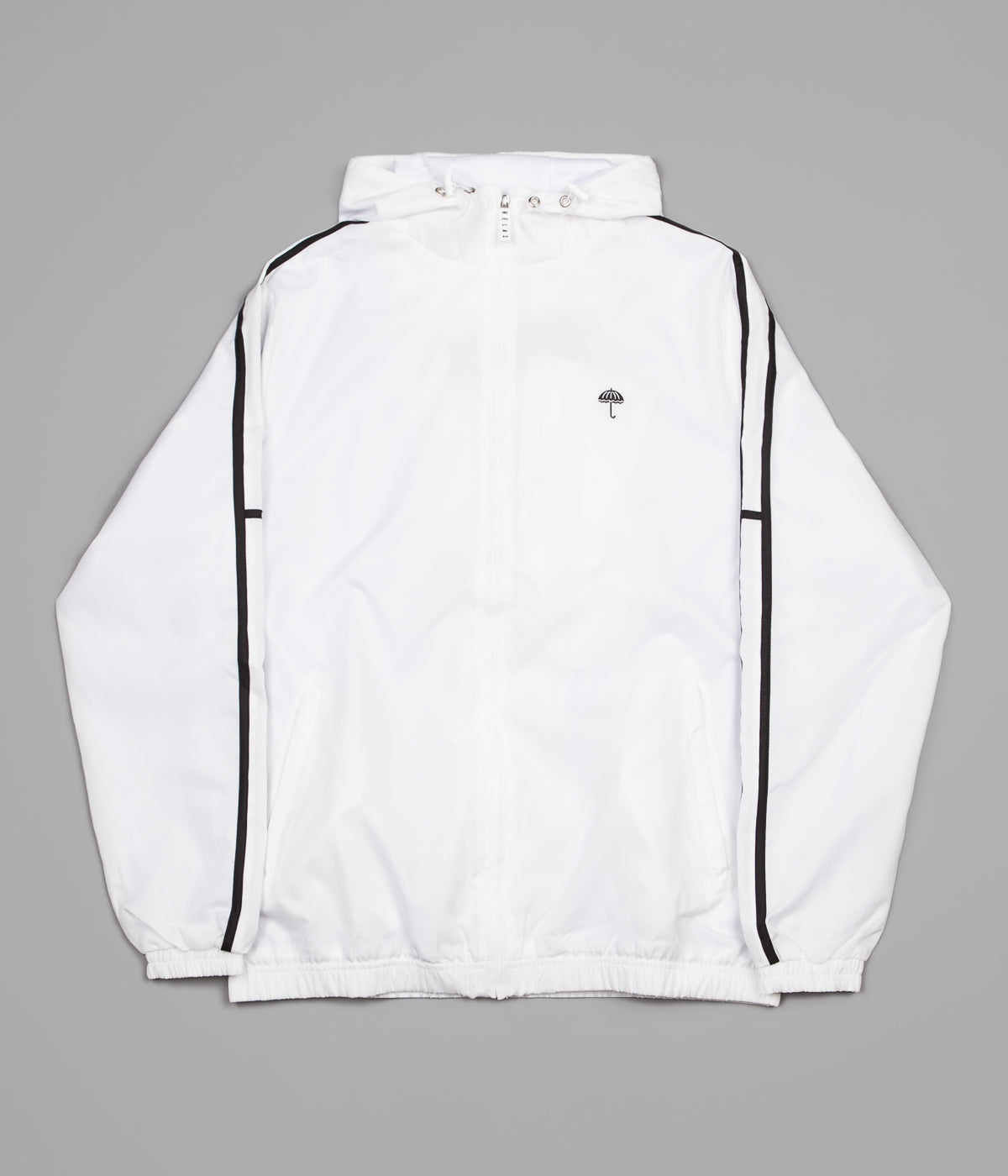 Helas Classic H Stripes Tracksuit Jacket - White