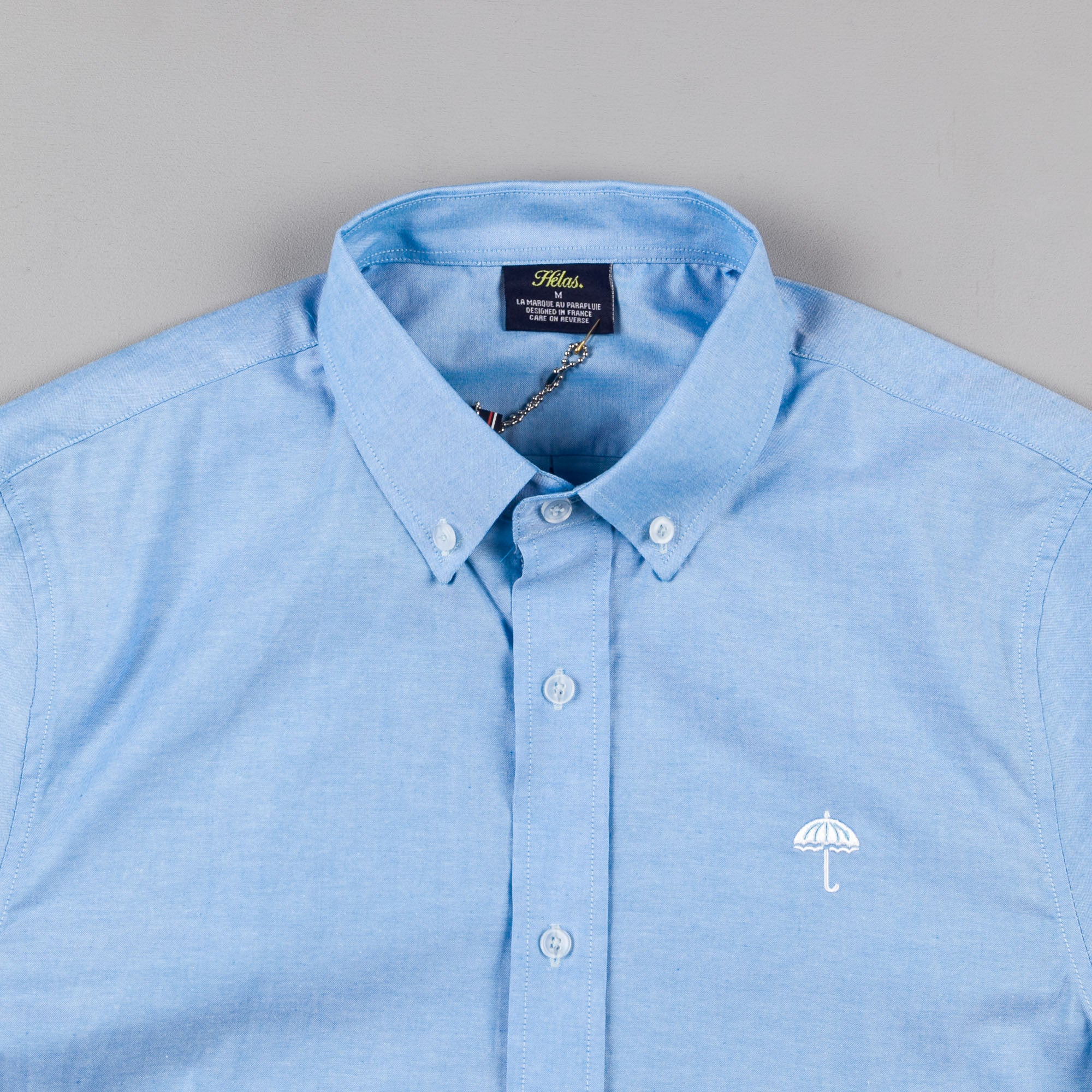 Helas Classic Long Sleeve Shirt - Cyan