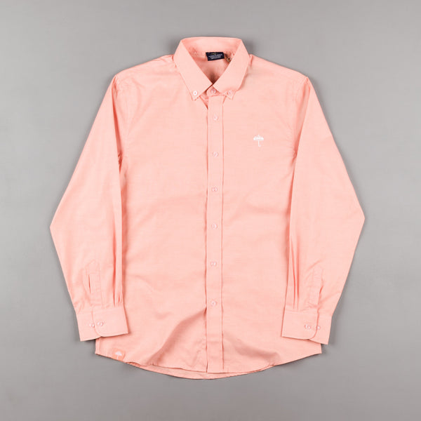 Helas Classic Long Sleeve Shirt - Salmon Pink