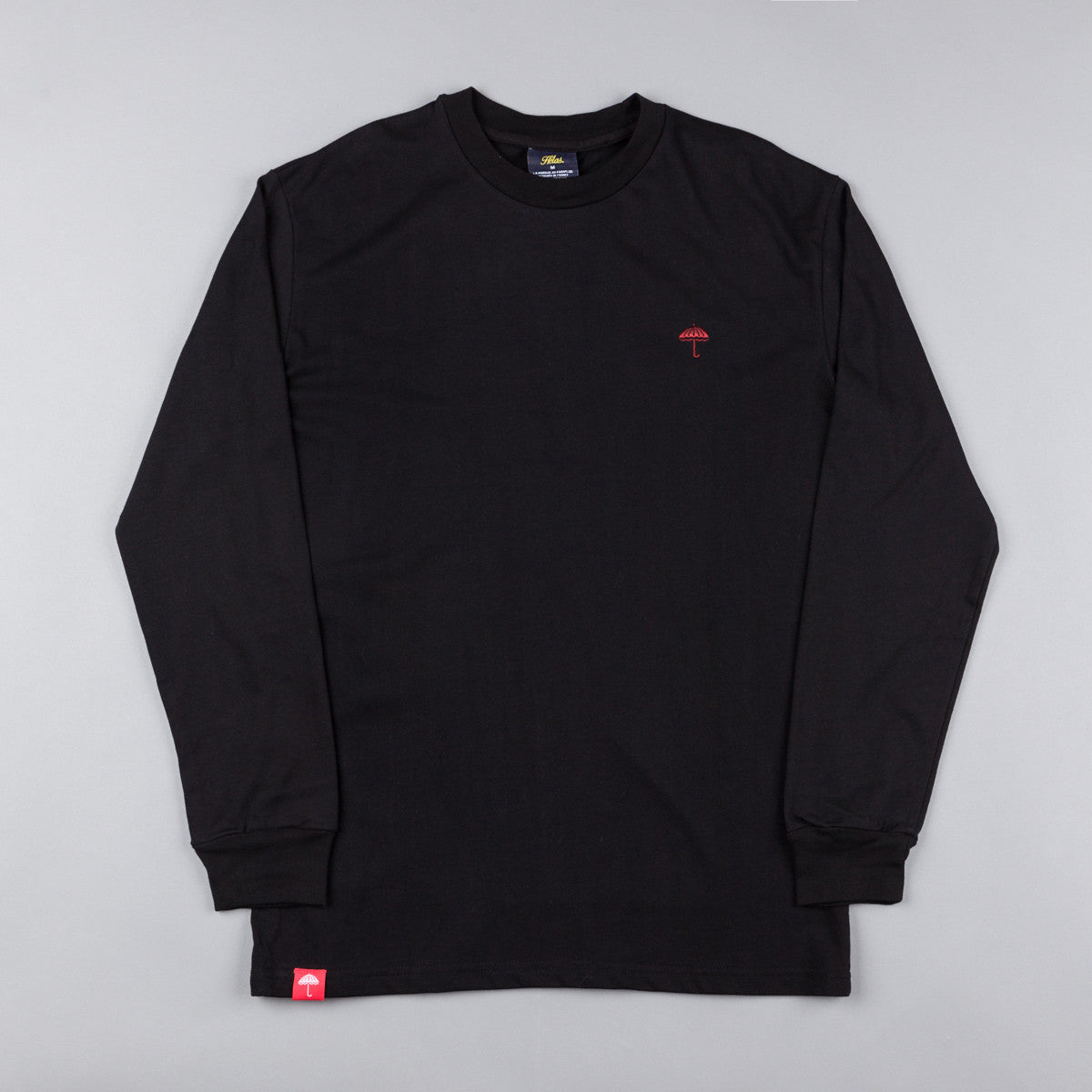 Helas Classic Long Sleeve T-Shirt - Black