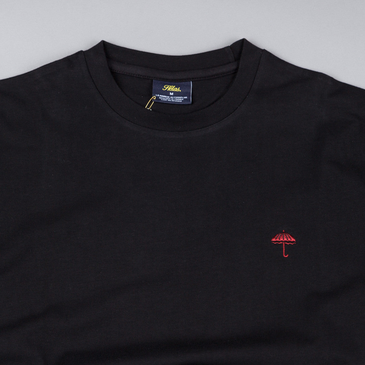 Helas Classic T-Shirt - Black / Red