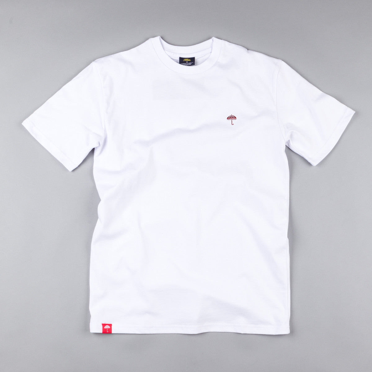 Helas Classic T-Shirt White / Red