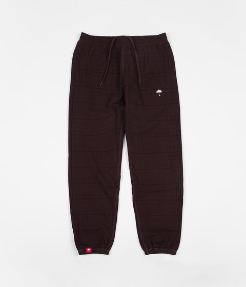 Helas Costard Sweatpants - Burgundy