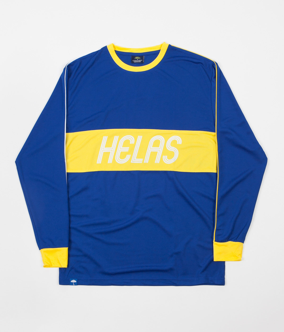 Helas Diego Long Sleeve T-Shirt - Blue