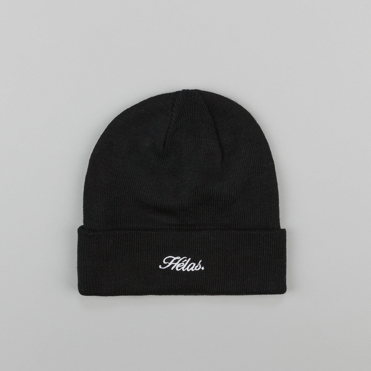 Hĩlas Embroidered Beanie - Black