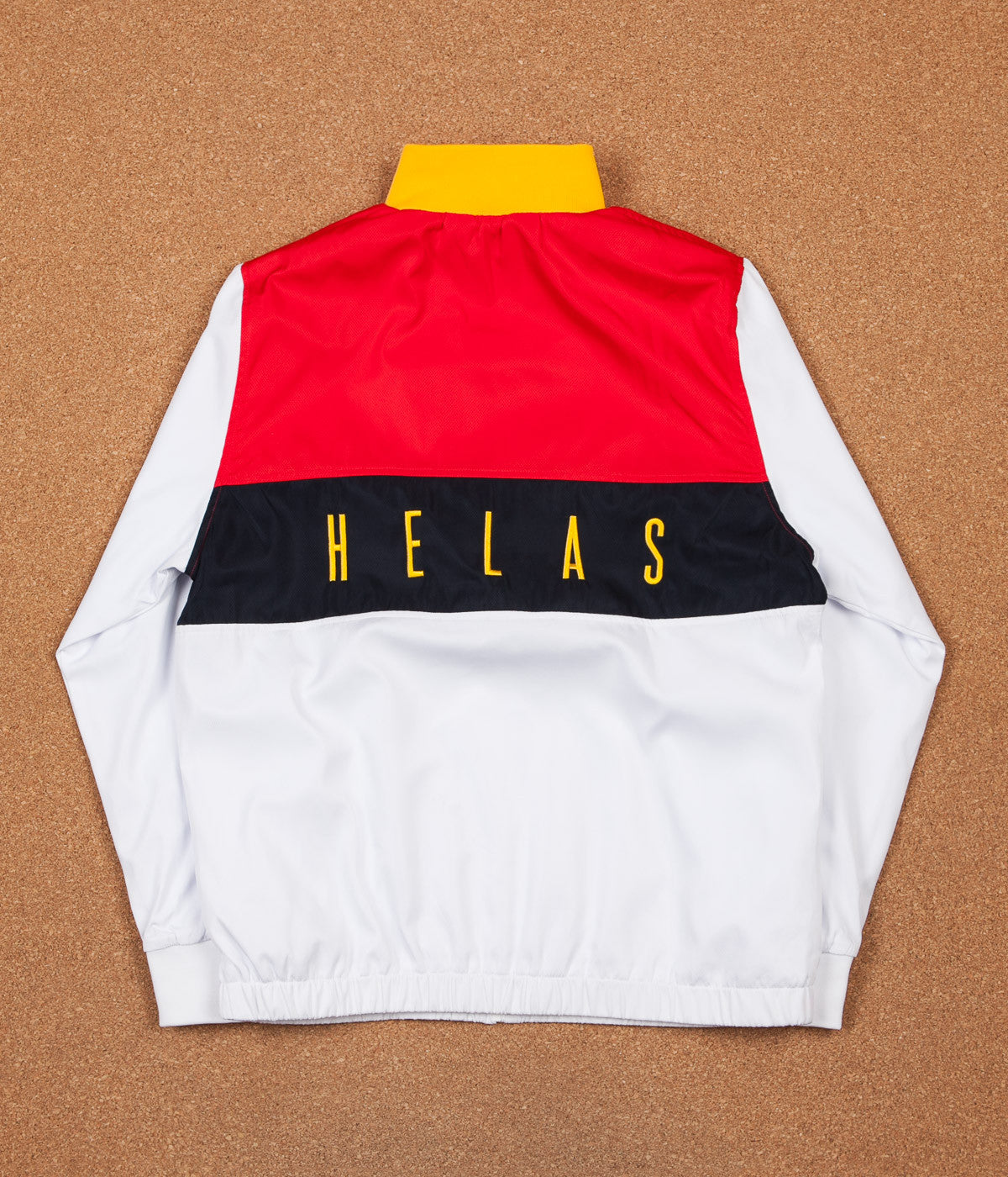 Helas Foquinha Tracksuit Jacket - White / Red / Black