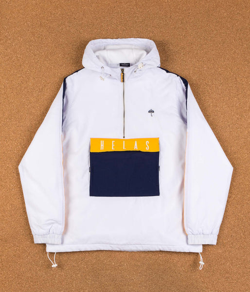 Helas Gang Tracksuit Jacket - White