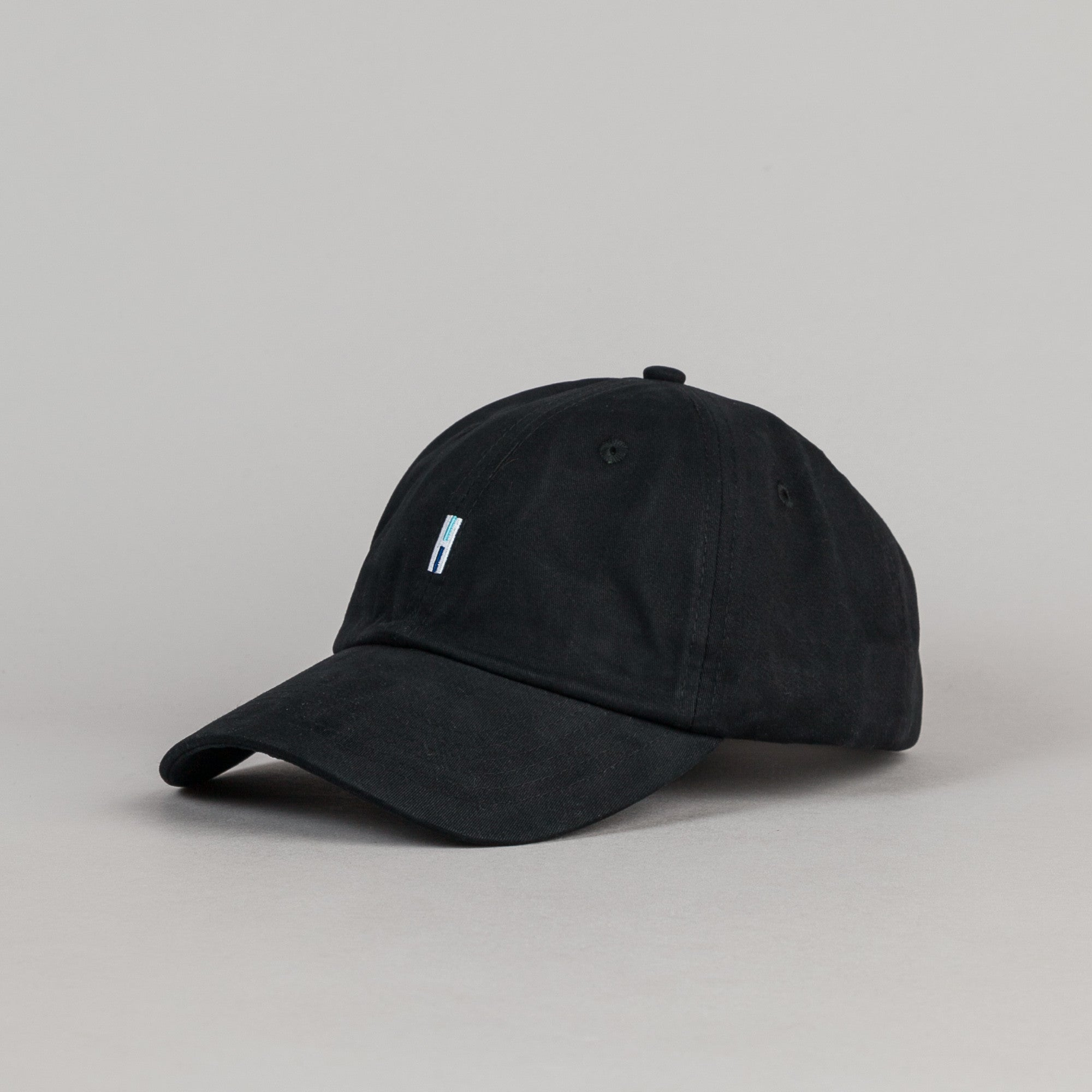 Helas H 6 Panel Cap - Black