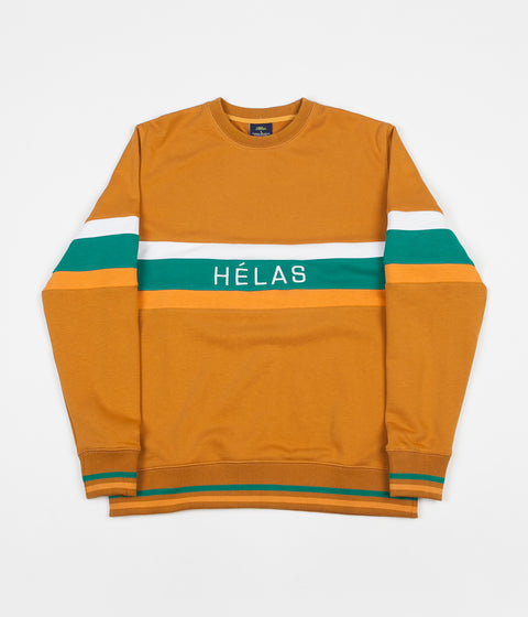Helas Keith Crewneck Sweatshirt - Brown