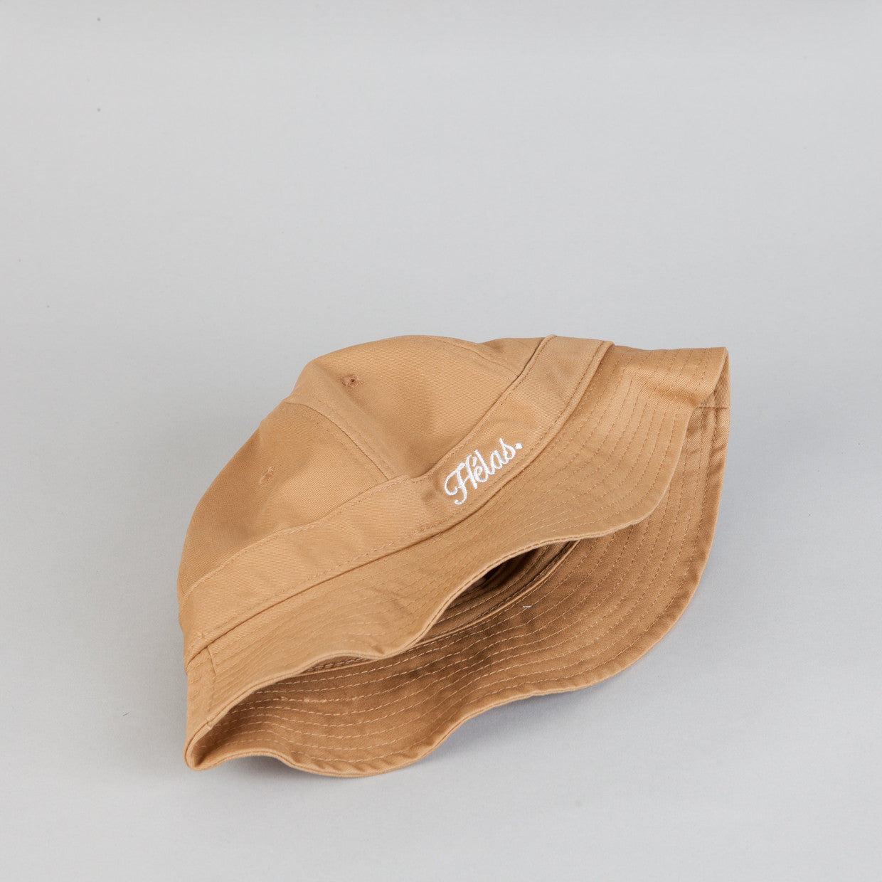 Helas Lebob Bucket Hat Brown Twill