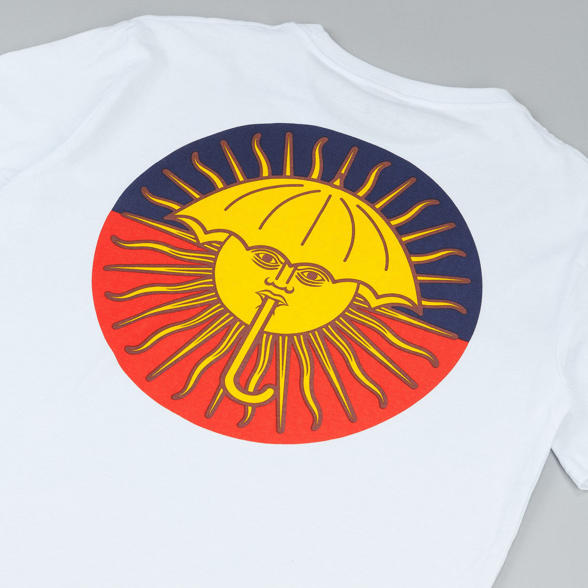 Helas Parasol De Mayo T-Shirt White / Navy - Red