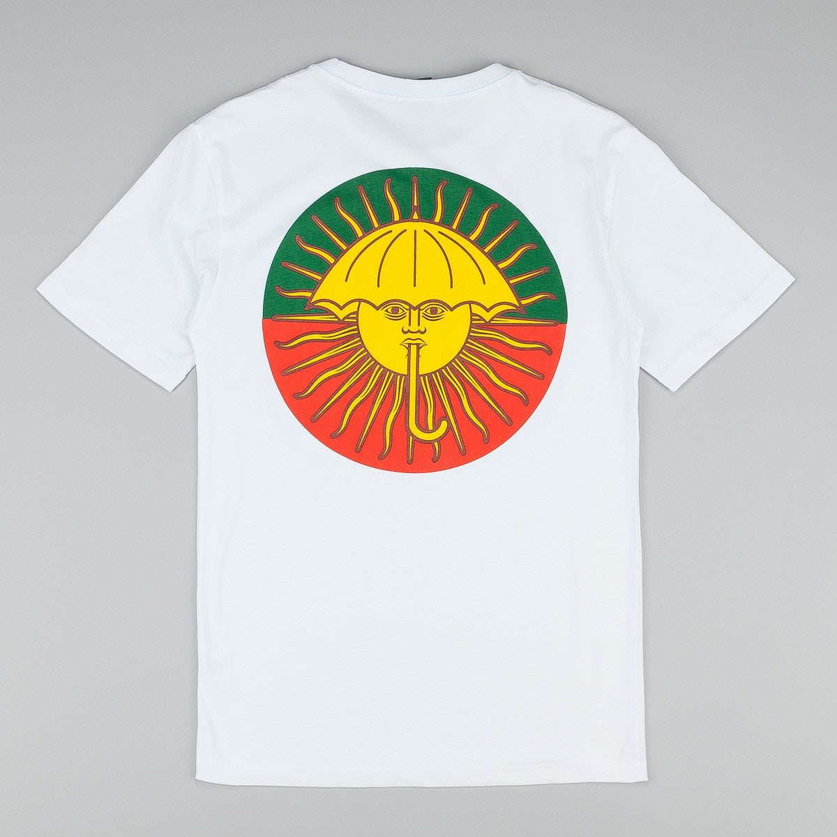 Helas Parasol De Mayo T-Shirt White / Red - Green