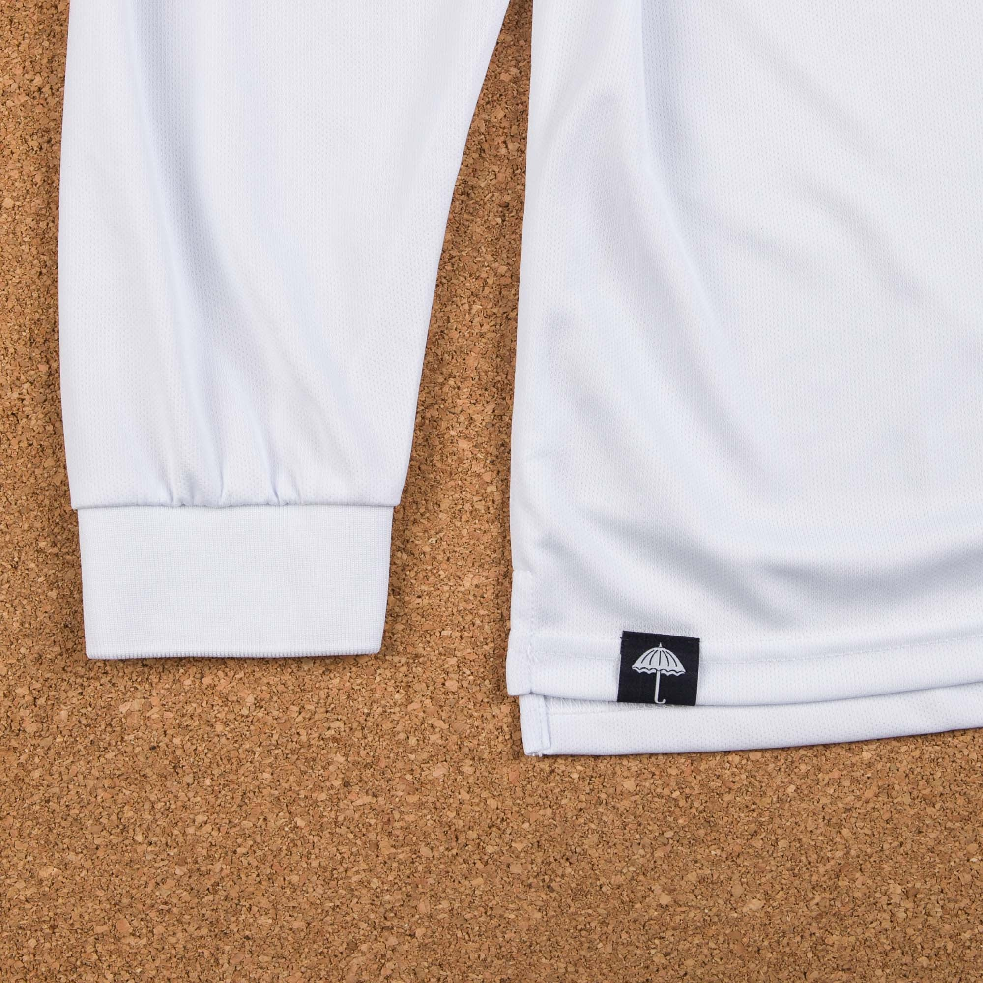 Helas Polo Club Long Sleeve Jersey - White