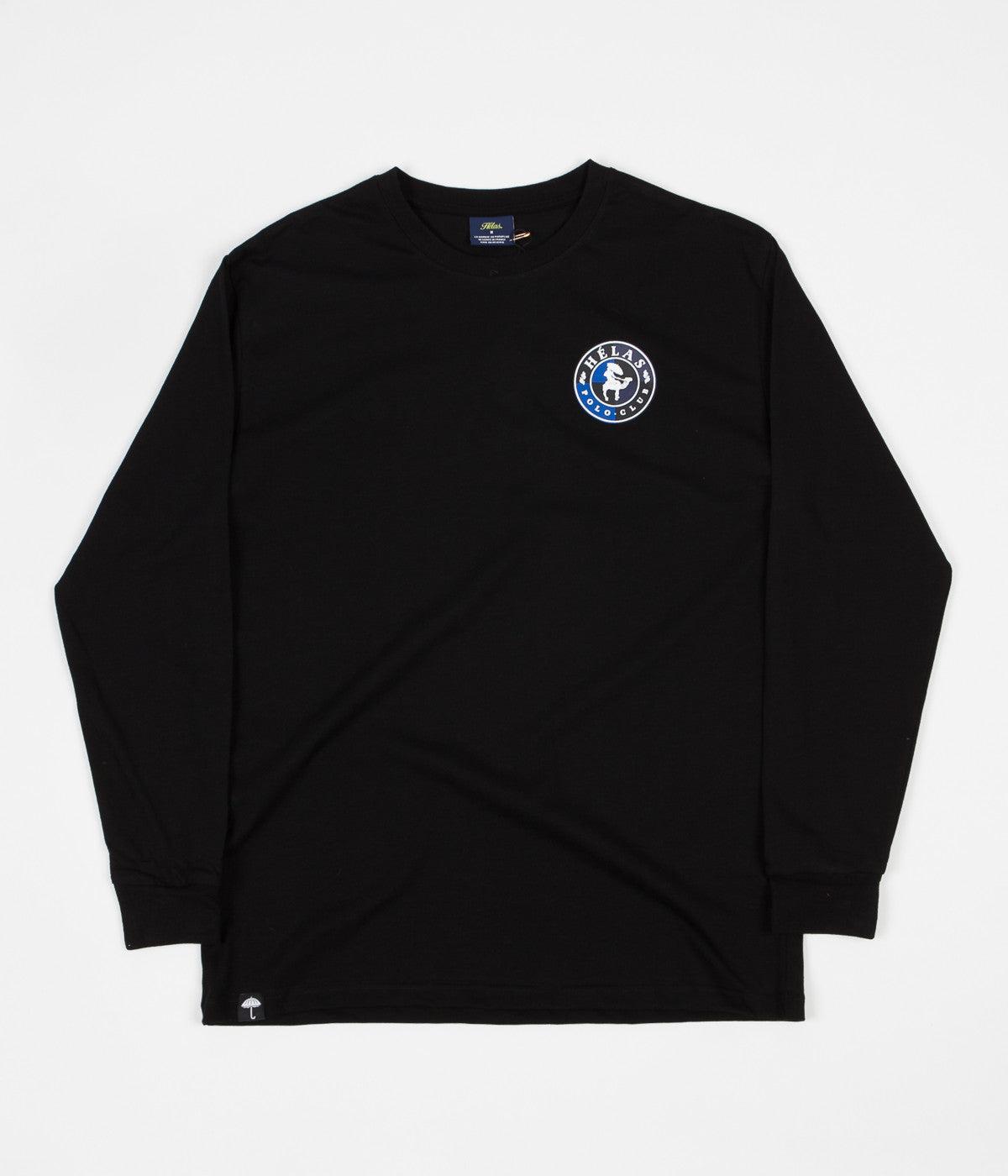 Helas Polo Club Long Sleeve T-Shirt - Black