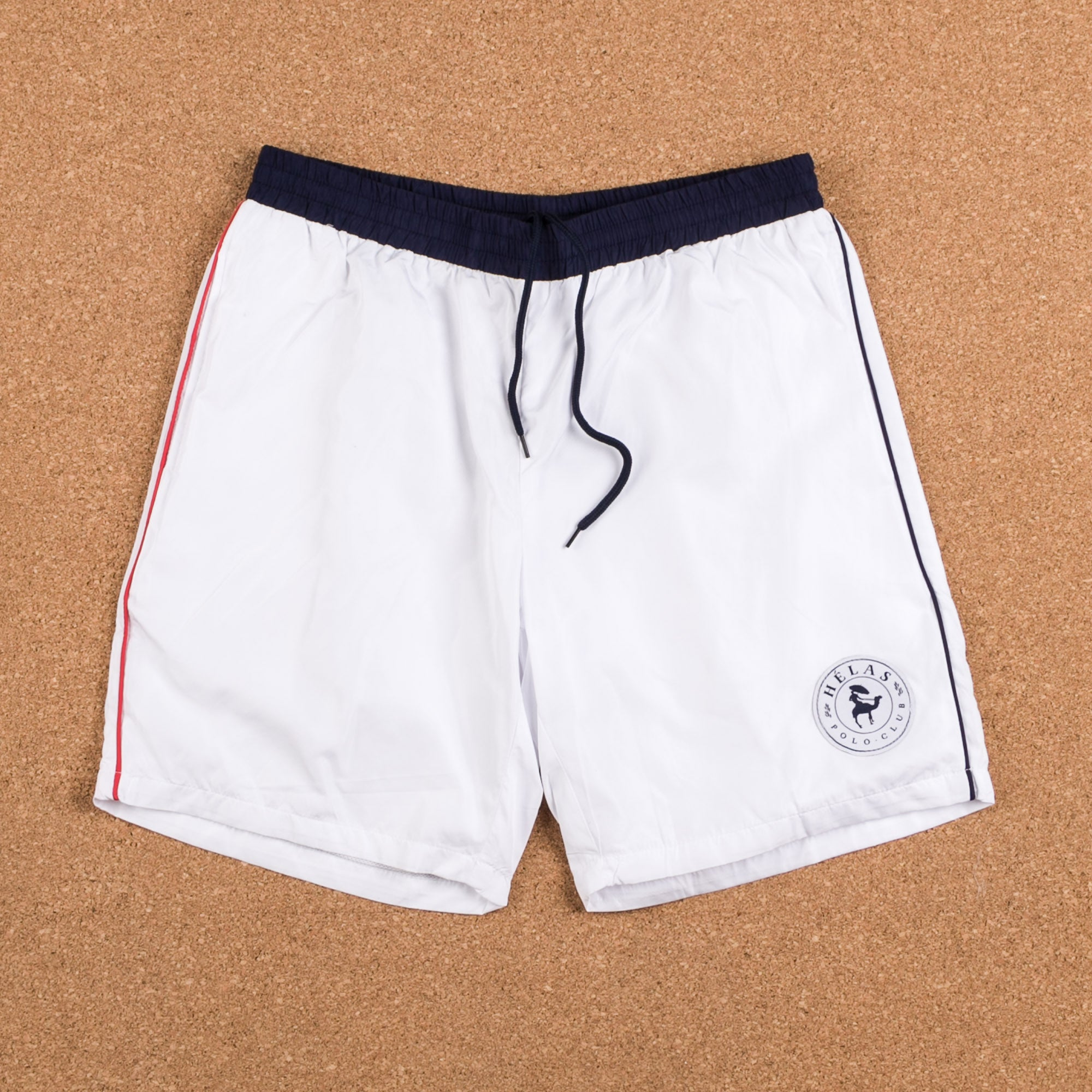 Helas Polo Club Shorts - White