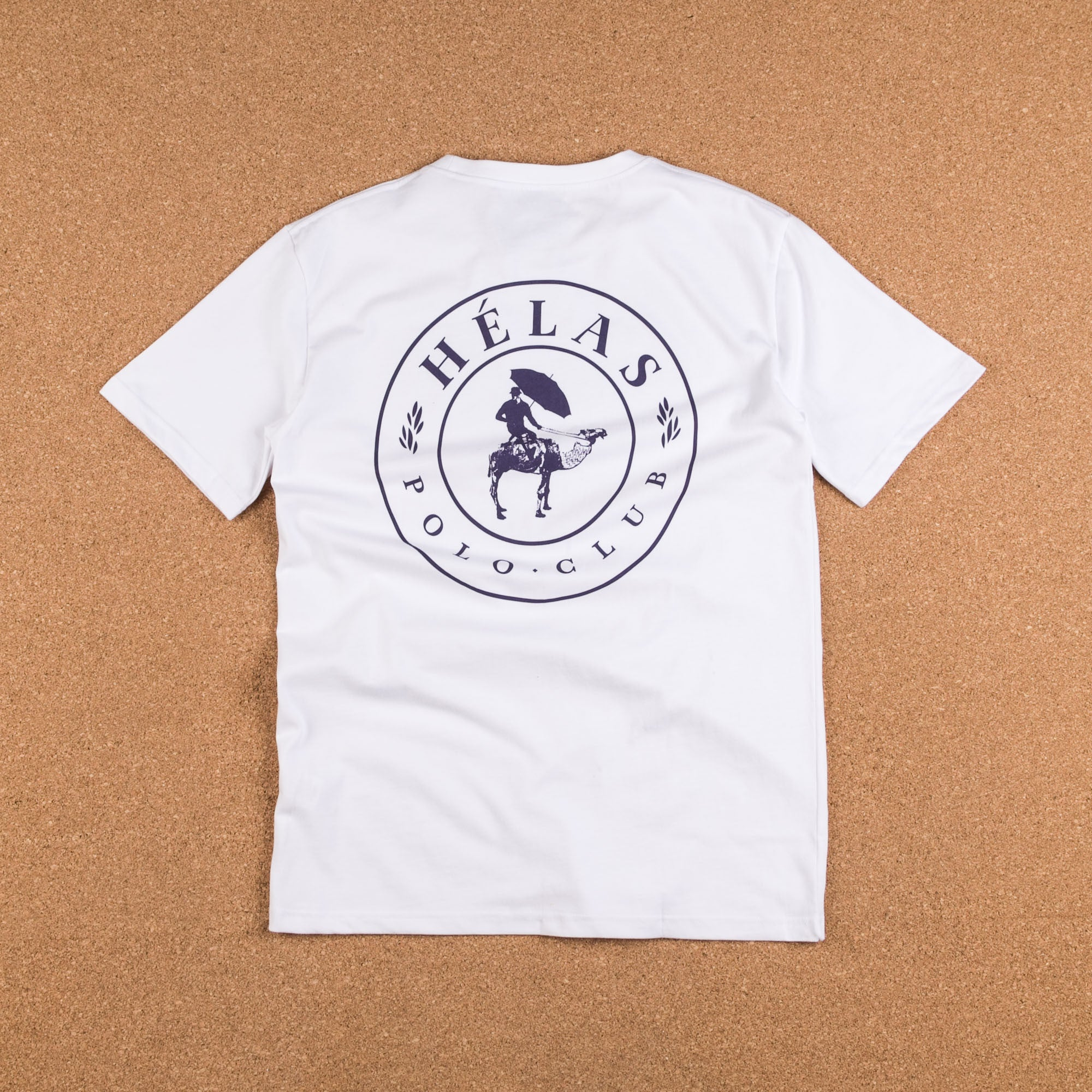 Helas Polo Club T-Shirt - White