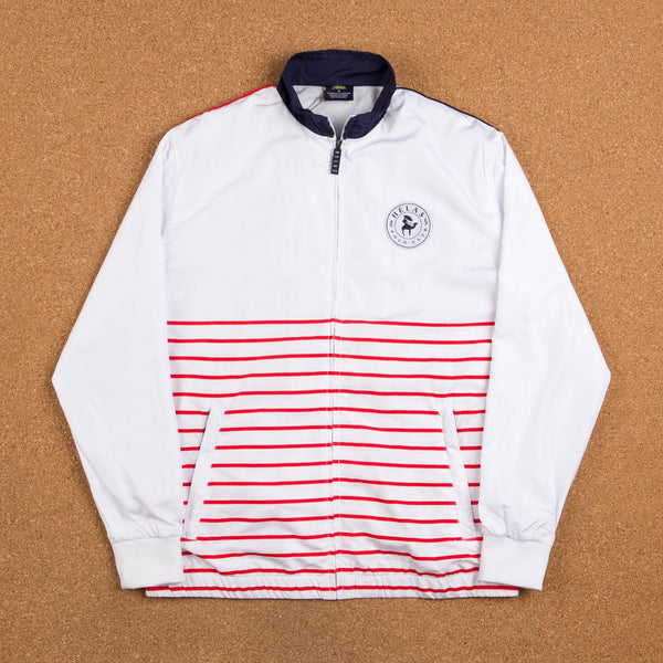 Helas Polo Club Tracksuit Jacket - White