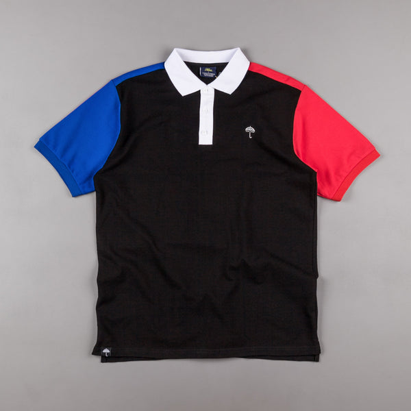 Helas Quatro Inferno Polo Shirt - Black / Navy / Red / White