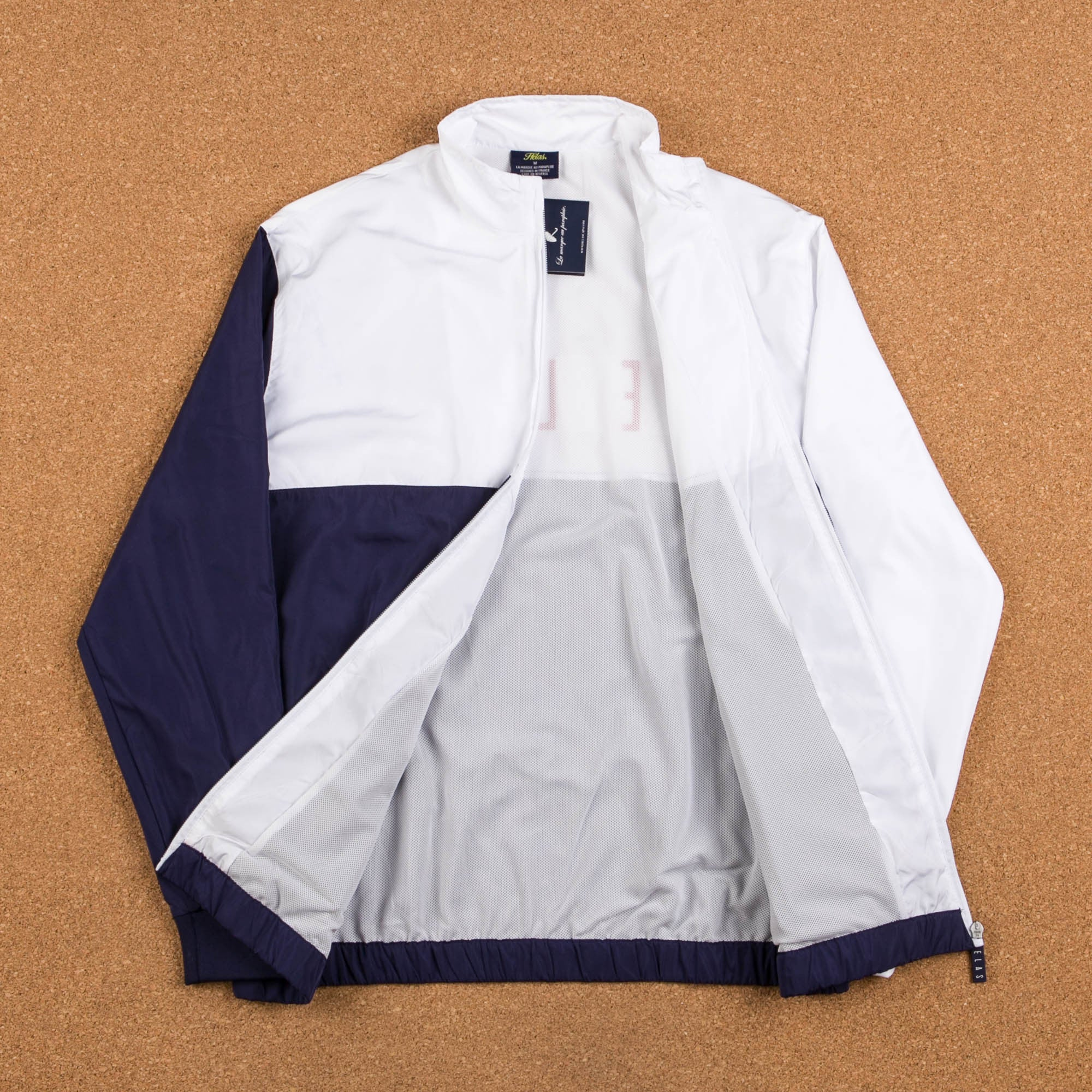 Helas S.U.T Jacket - Navy Blue / White