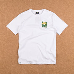 Helas Silent H-Gun T-Shirt - White / Green / Yellow