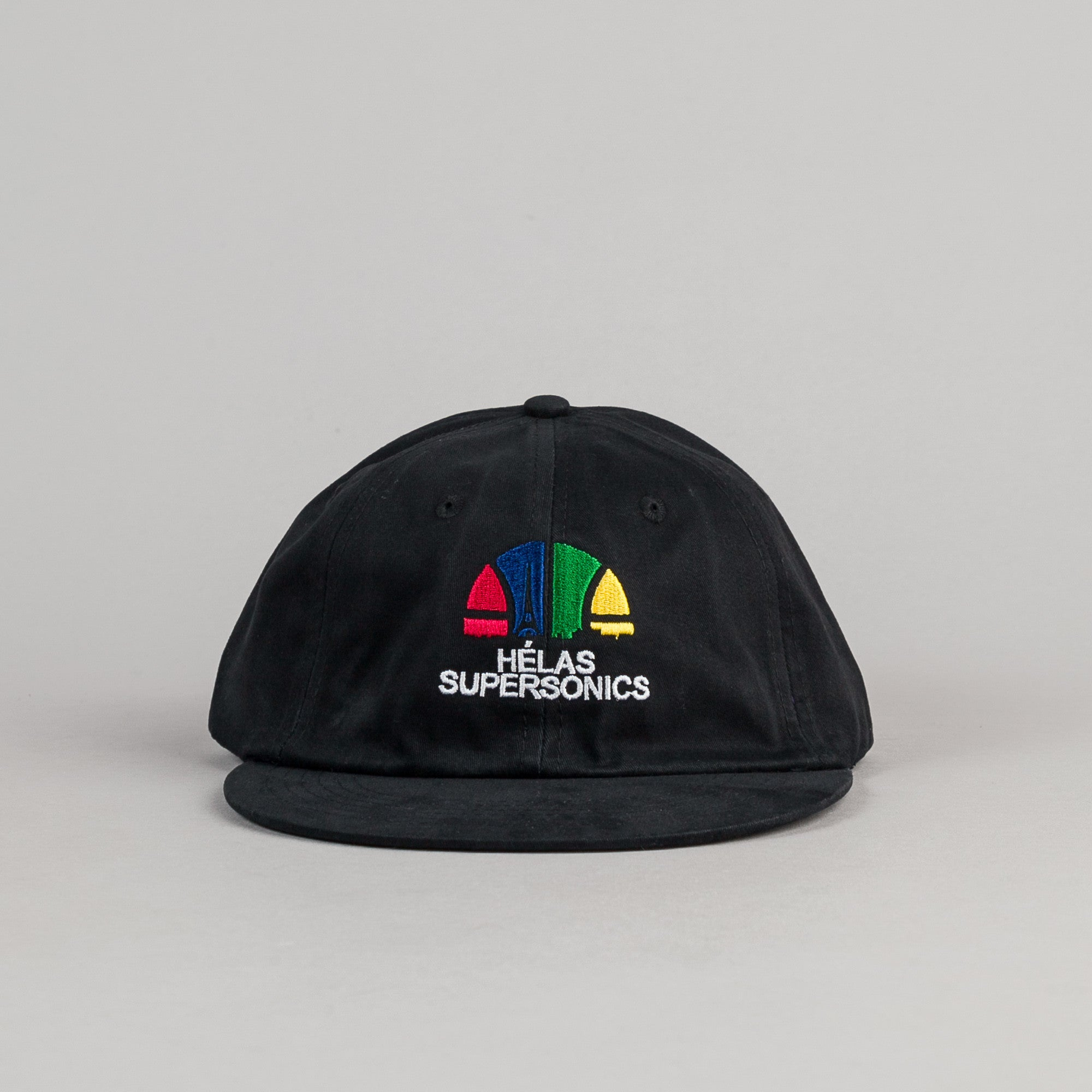 Helas Supersonics 6 Panel Cap - Black