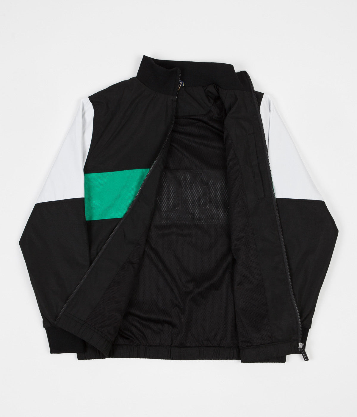 Helas Turbo Tracksuit Jacket - Black