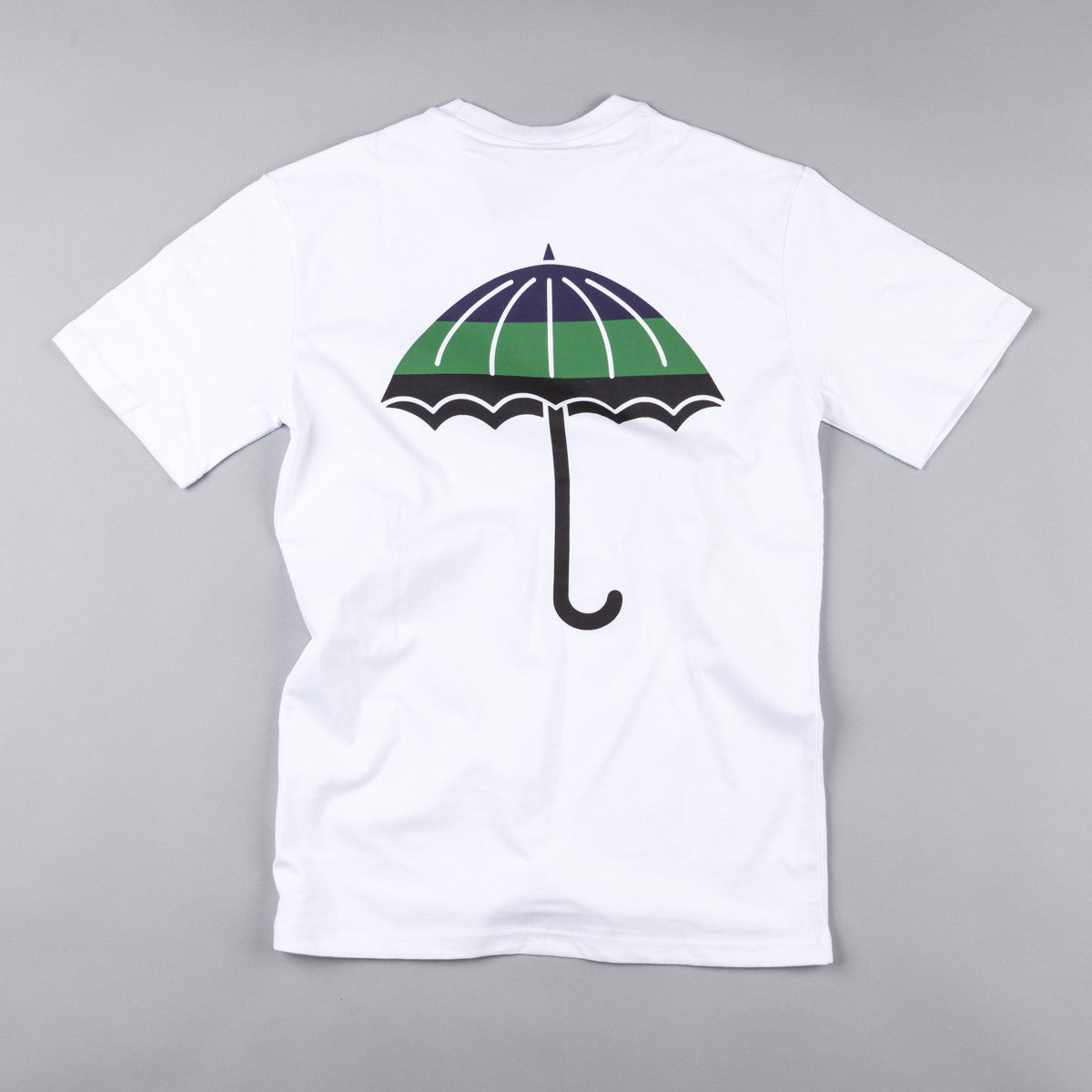 Helas Umbrella Bando T-Shirt - White / Navy / Green / Black