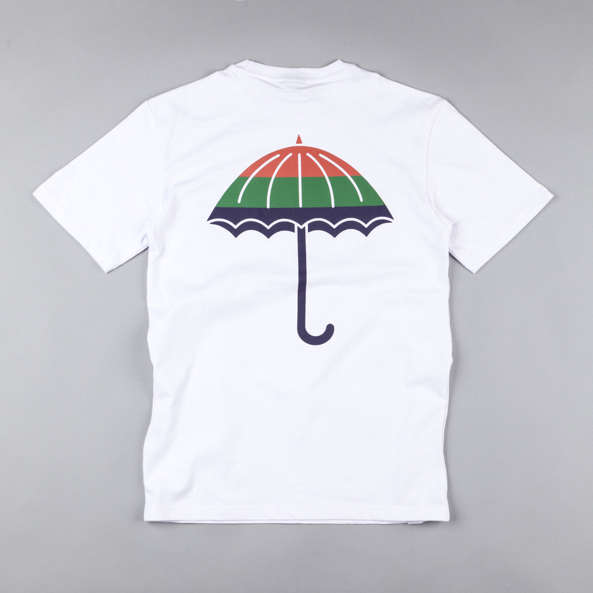 Helas Umbrella Bando T-Shirt - White / Red / Green / Navy