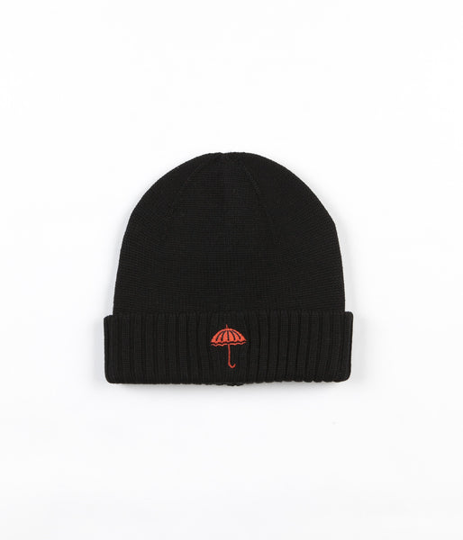 Helas Umbrella Beanie - Black