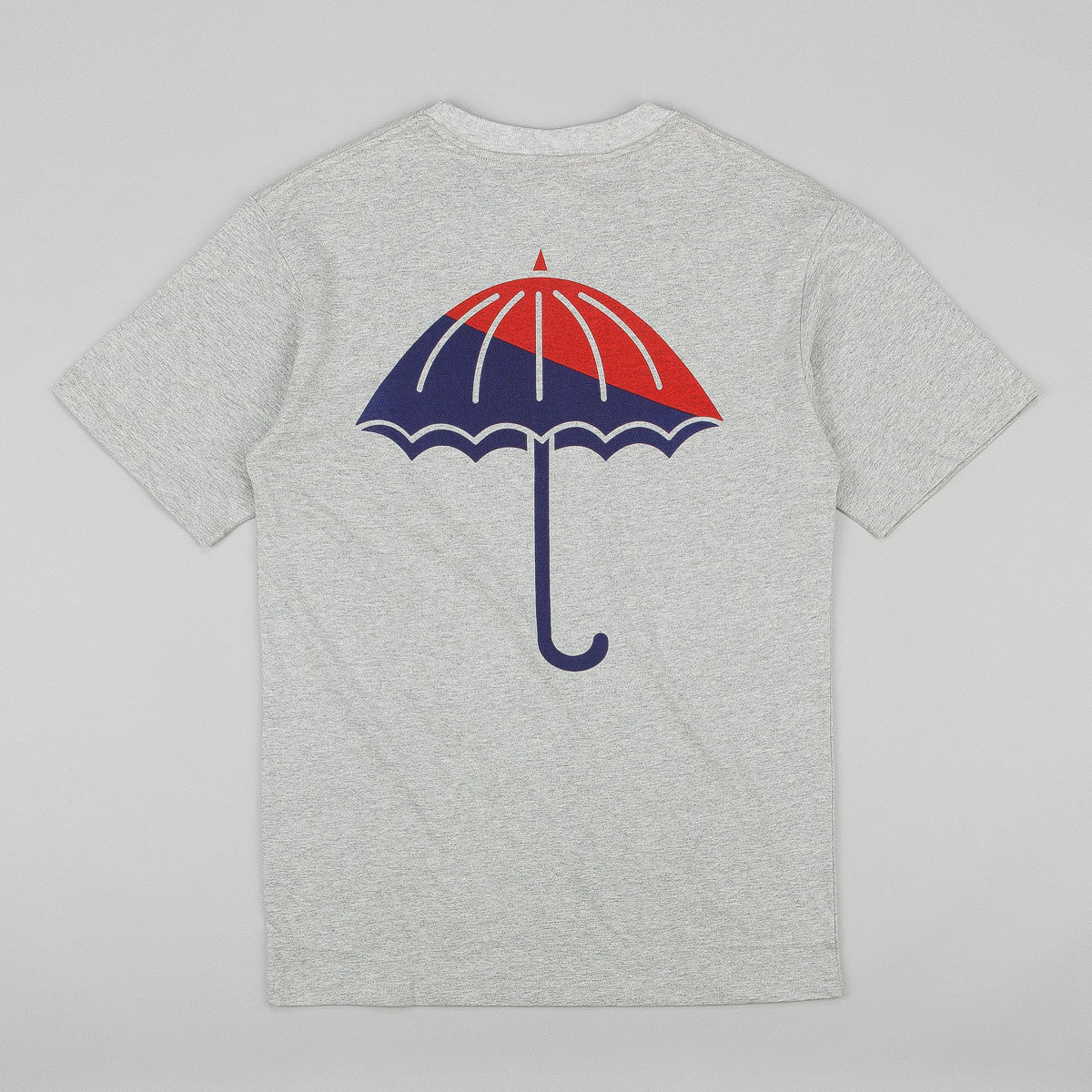 Helas Umbrella T-Shirt - Heather Grey