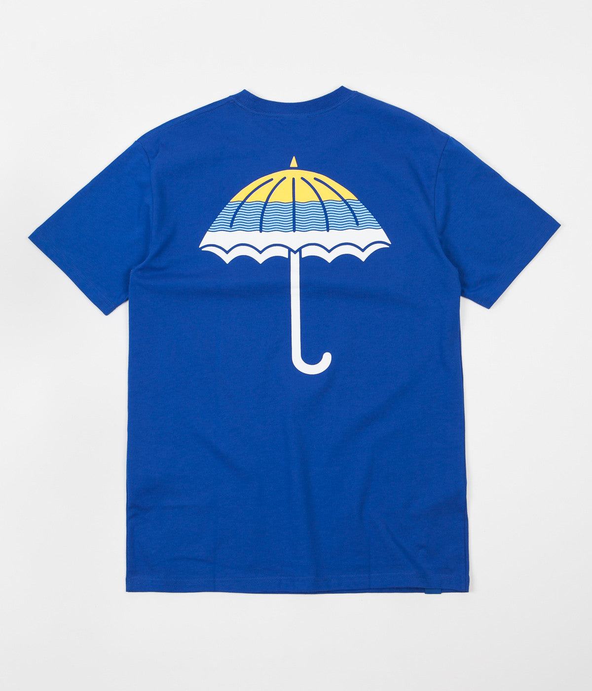 Helas Wavy Umbrella T-Shirt - Blue