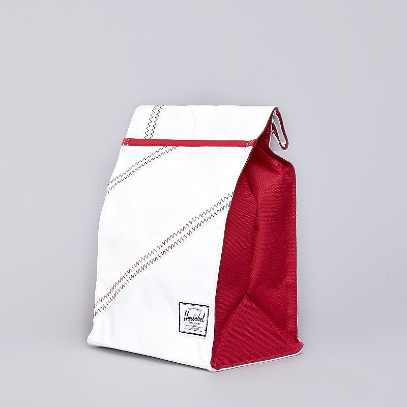 Herschel Canteen Lunch Pack White / Racing Red