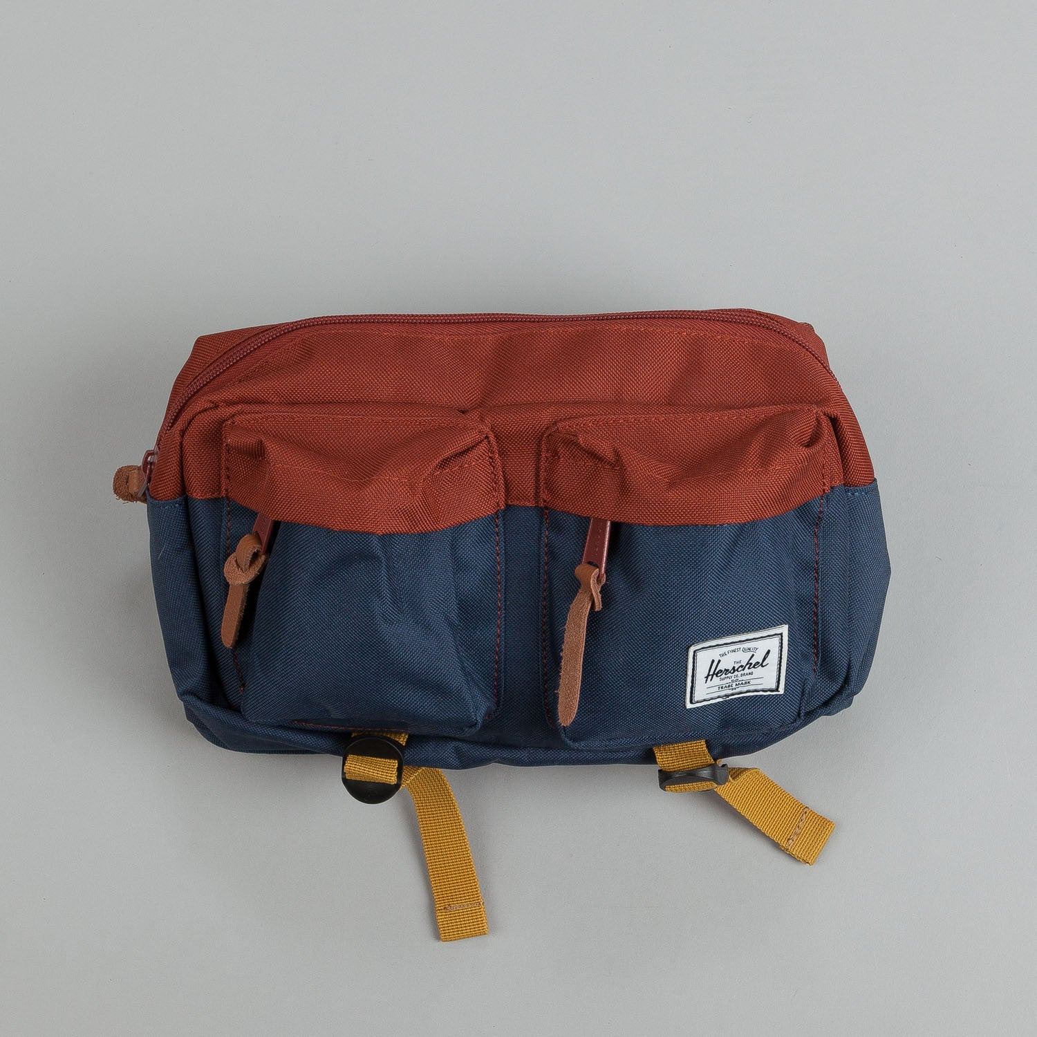 Herschel Eighteen Hip Pack Navy / Rust / Copper