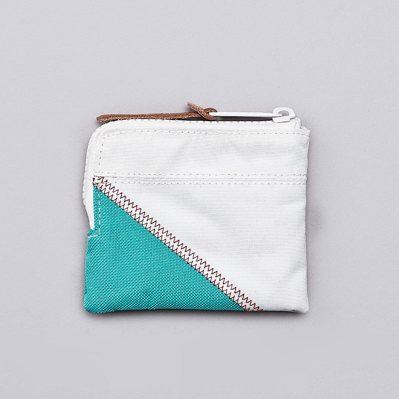 Herschel Johnny Wallet White / Mark Teal