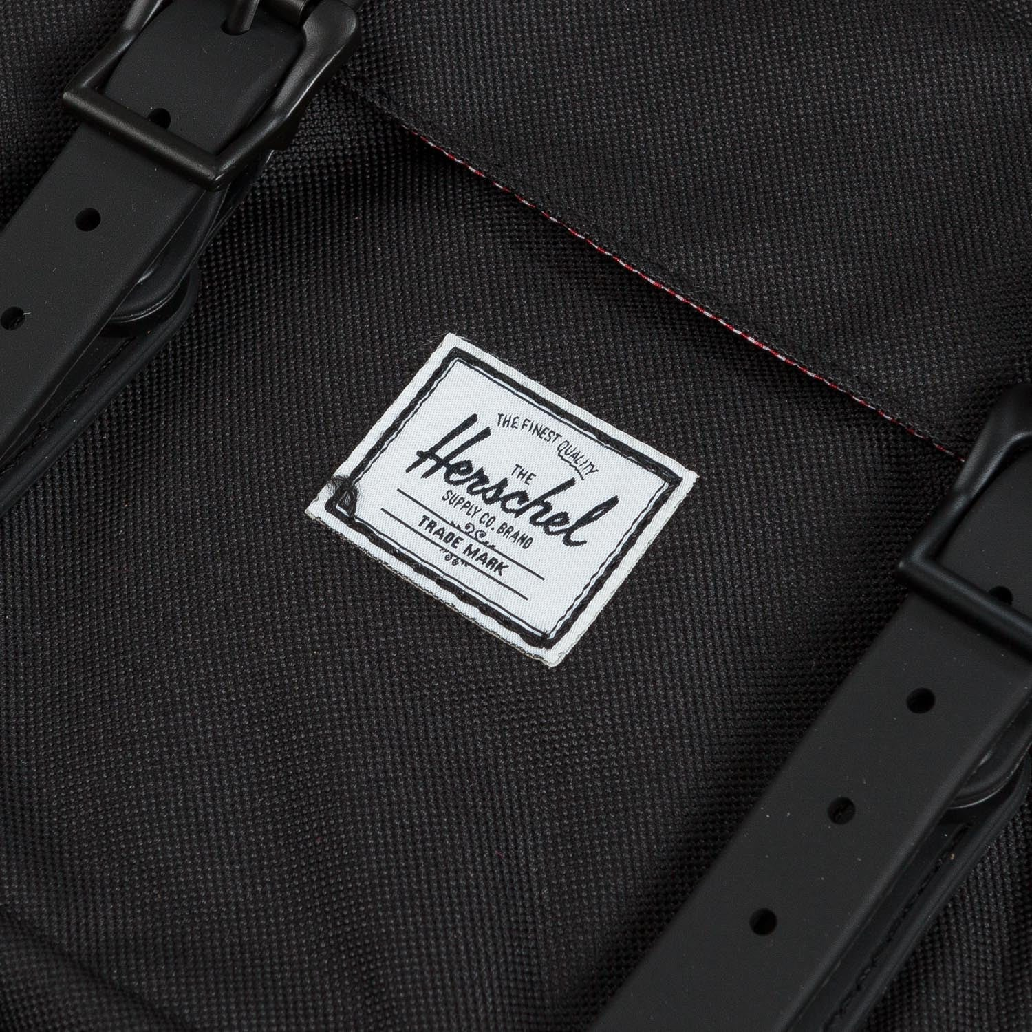 Herschel Little America Backpack Black Rubber