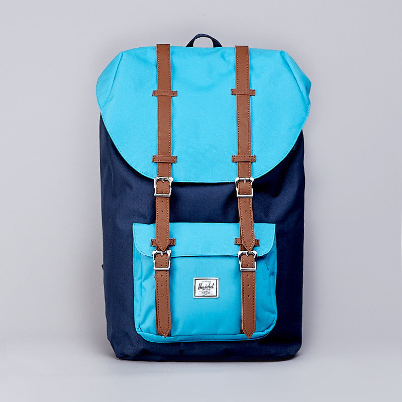 Herschel Little America Backpack Navy / Cyan