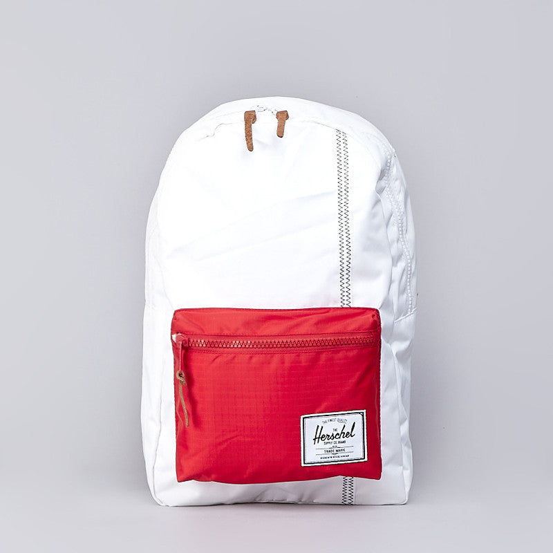 Herschel Settlement Backpack White / Racing Red / Regatta Blue