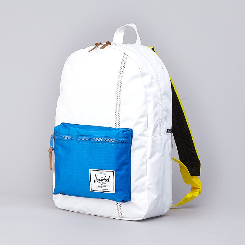 Herschel Settlement Backpack White / Regatta Blue / Cardinal Yellow